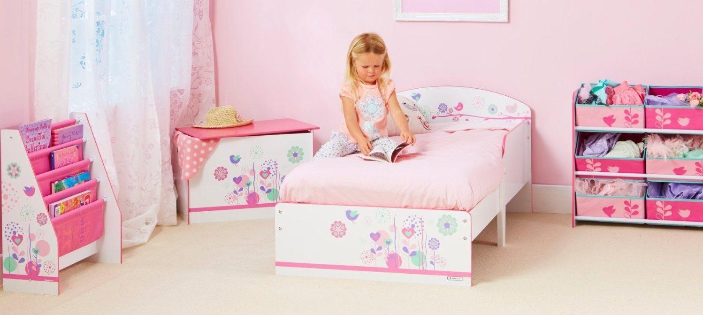 Cama infantil madera motivo pajaritos 454flw sin colch n - Ver camas para ninos ...