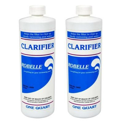 Robelle 1 qt. Pool Clarifier (2-Pack) | Swimming pools, Pool ...