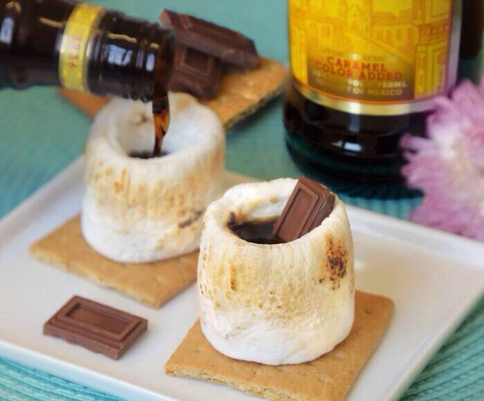 Quick s'mores