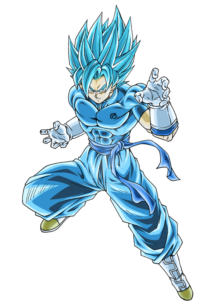 Ex Gogeta Ssb Super Dbxv2 Color 1 By Thanachote Nick Best