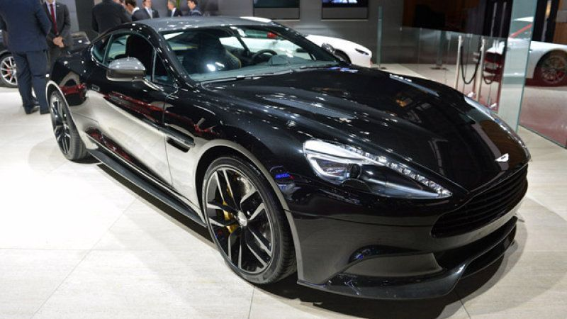 Martin Vanquish Carbon Edition is back in black [w/video] ston Martin Vanquish Carbon Editionston Martin Vanquish Carbon Edition