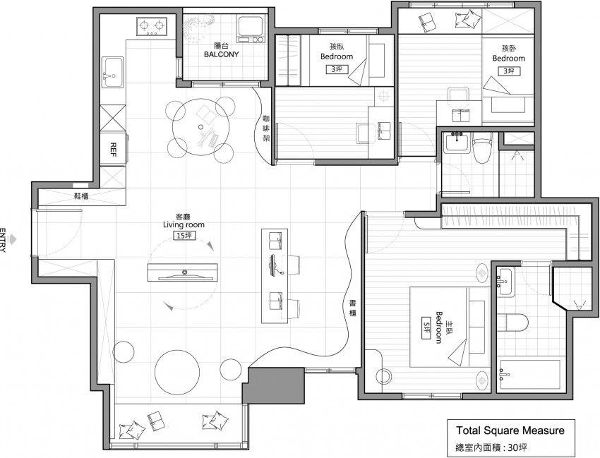 Family Home By House Design Floor Plan Design House Floor Plans Apartment Floor Plan