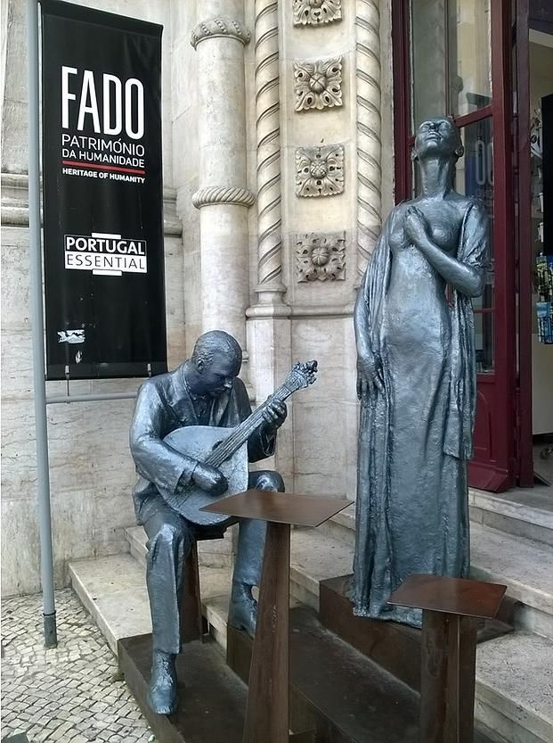 Silence! Someone is going to sing a FADO.