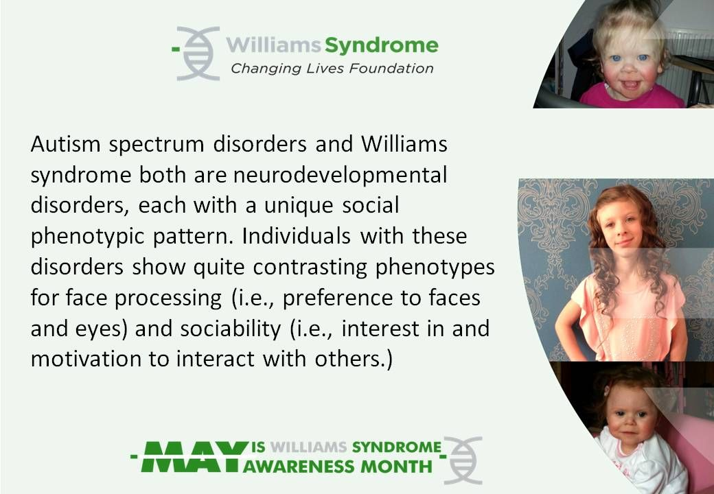 Williams syndrome awareness month fact sheet | Williams ...