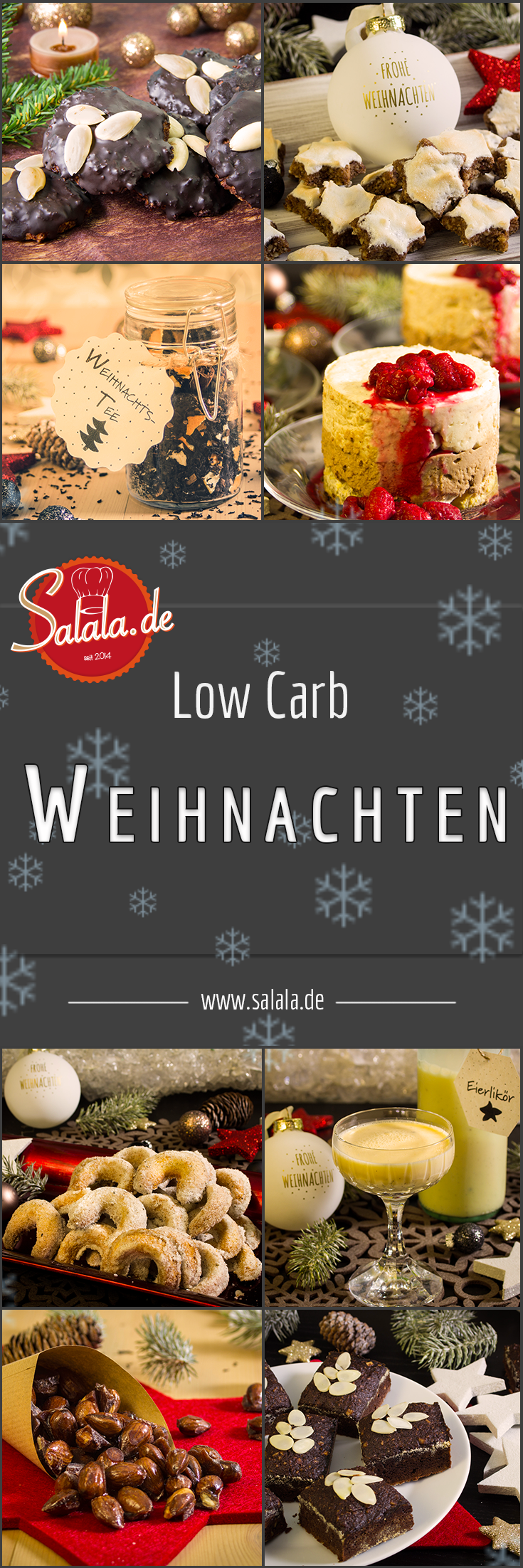 Low Carb Weihnachten | Weihnachtsgetränke, Low carb ernährung und ...