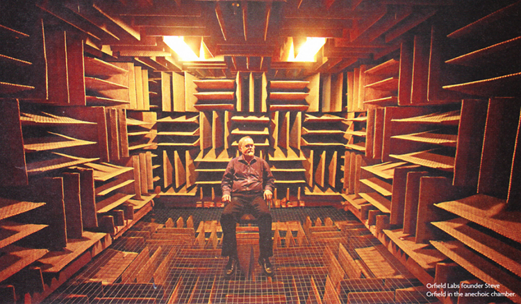 Orfield Labs Anechoic Chamber in Minneapolis
