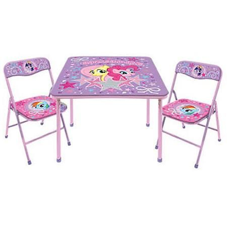 My Little Pony 3-Piece Table and Chair Set | Wants List | Pinterest ...