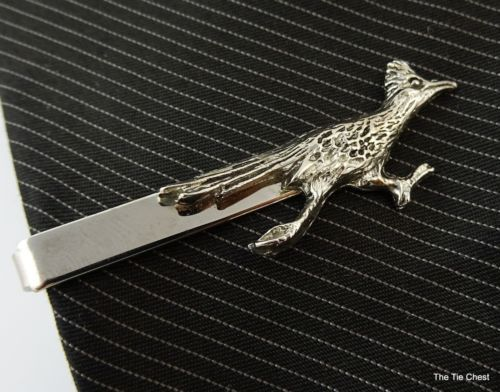 add3560c1918 Super fun tie clip for someone who's really fast! Roadrunner Vintage Tie  Clip
