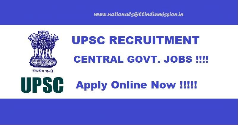 Union Public Service Commissionrecruitment08 vacancies