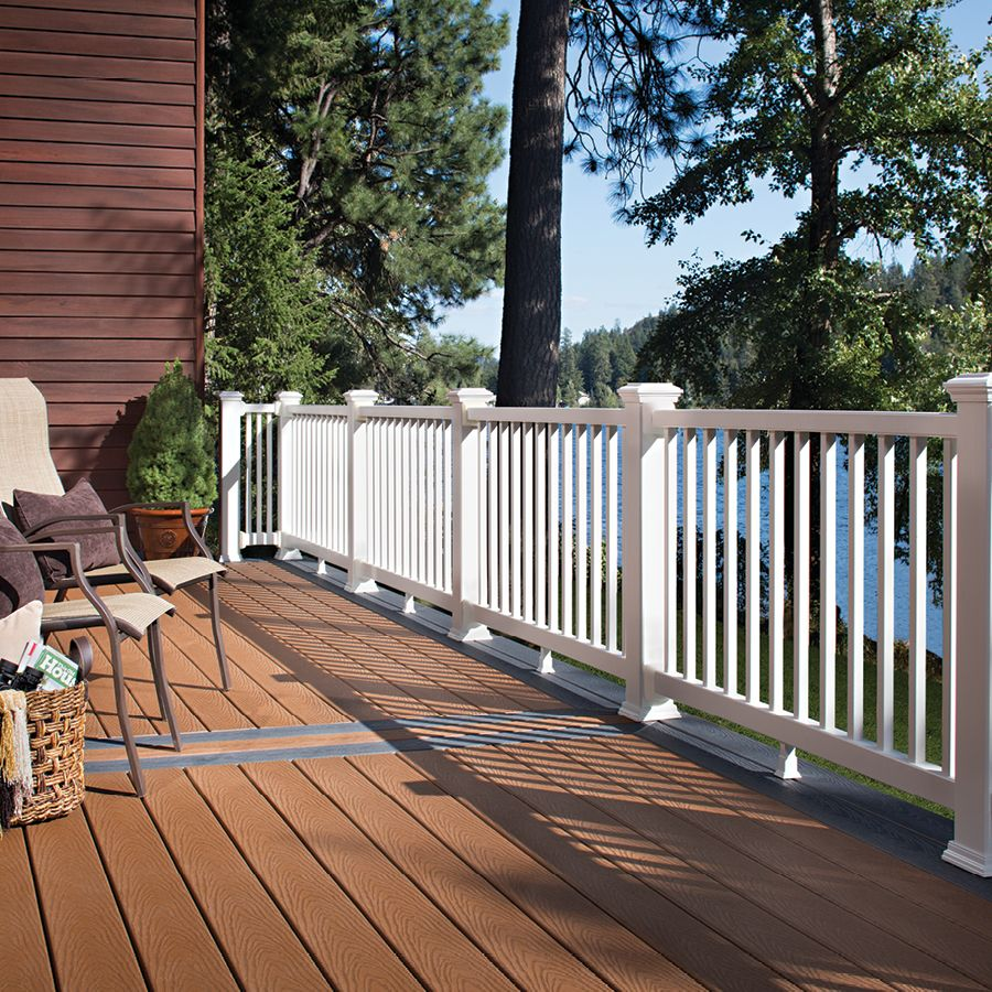 Trex Select Saddle Grooved 12 Schillings Aluminum Railing Deck Building A Deck Aluminum Decking