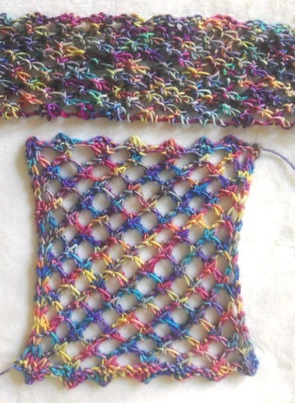 Photo of Ich wollte mir einen Netz-Pulli stricken. Leicht gedacht, schwer getan. Kein Des…