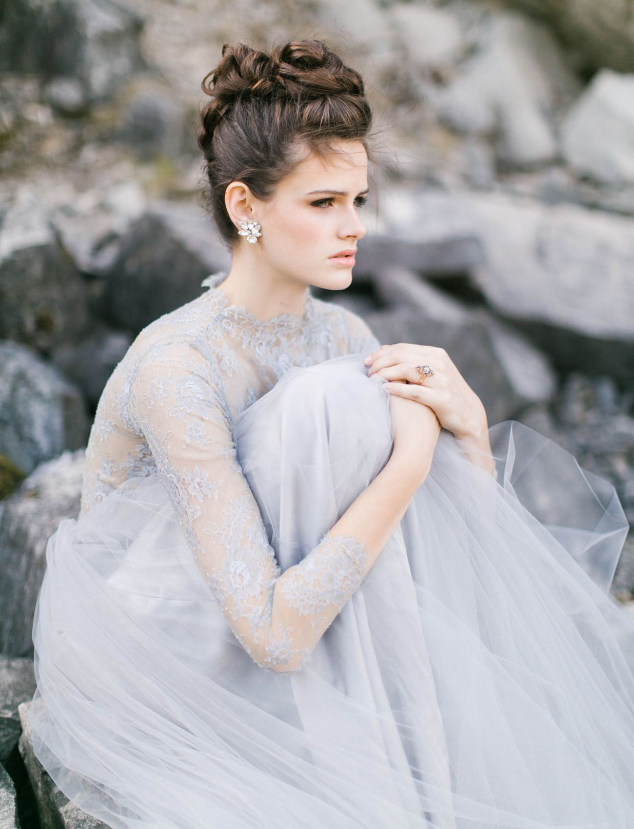 Winter Bridal Inspiration featuring Emily Riggs