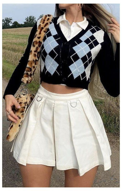 outfits con collares de moda