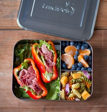 LunchBots Bento Trio Stainless Steel Food Containers are 60% larger than our…