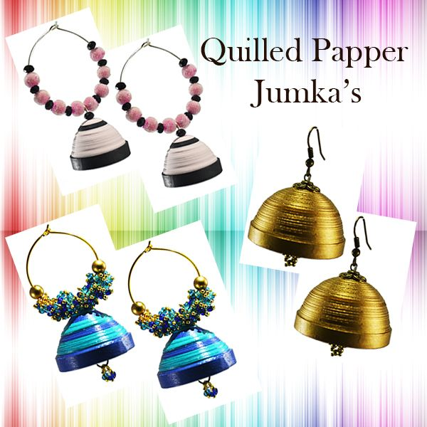 Colourful Paper Jewellery