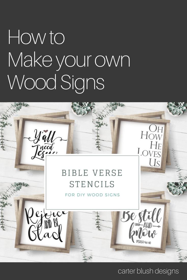 Make Your Own Wood Sign Farmhouse Decor Farmhouse Sign Diy