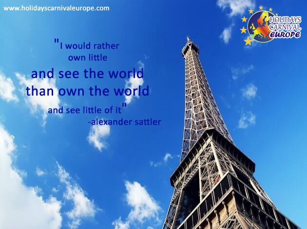 """""""I would rather own little and see the world than own the ..."""