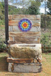 Balellas: Fonte em Mosaico e Pedra
