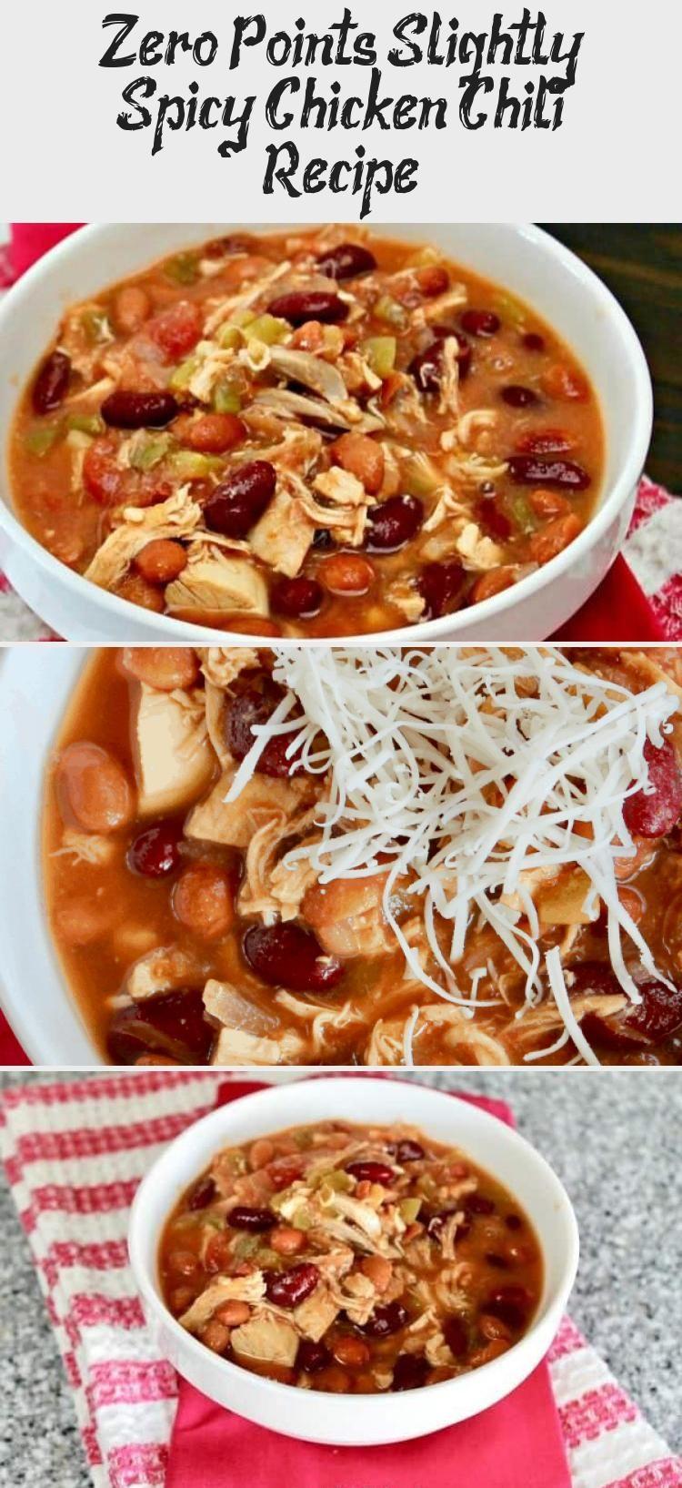 Zero Points Slightly Spicy Chicken Chili Recipe Diabet