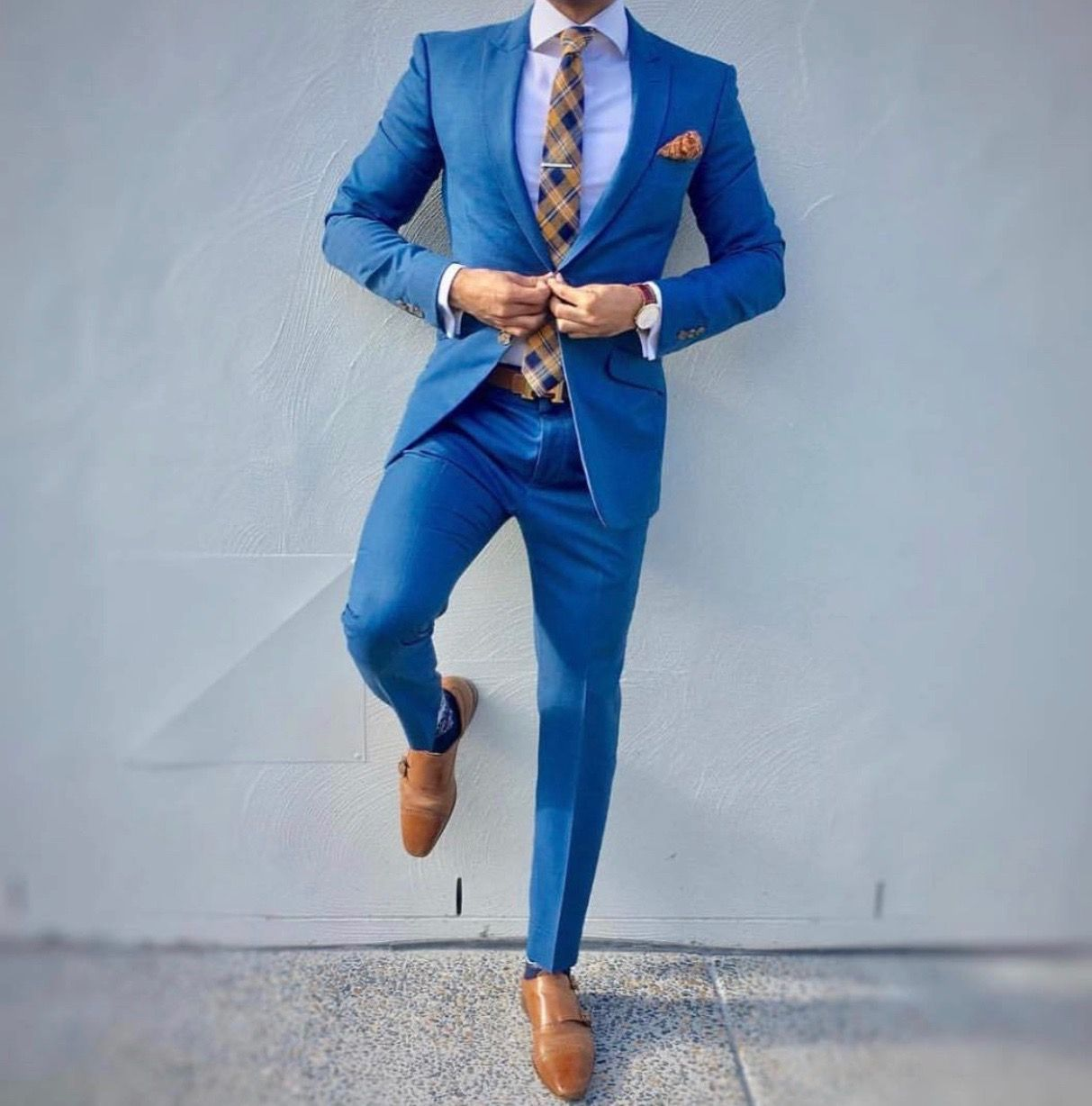 For those blue days.., | Men\'s Style | Pinterest | Wedding suits ...