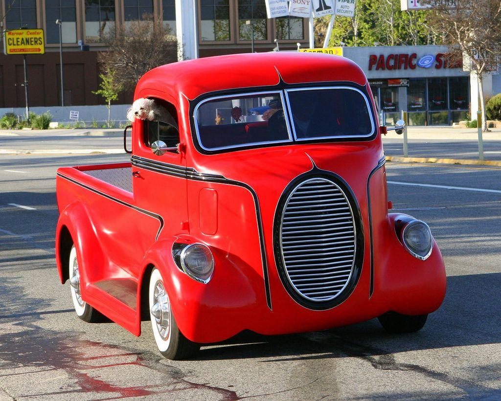 Custom cab over engine flatbed truck virtual car show for Garage ford maurecourt 78