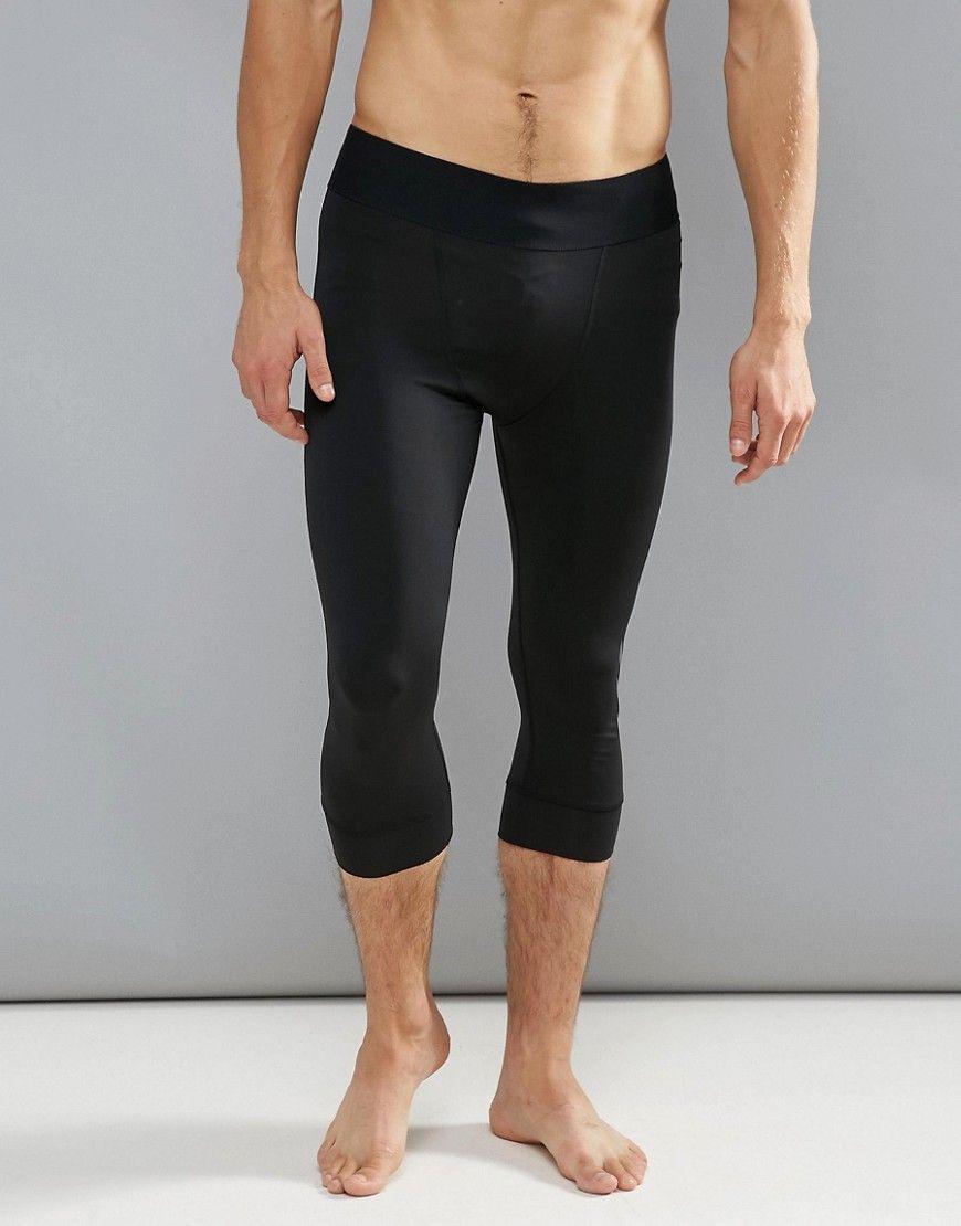 705344a084277e ADIDAS ORIGINALS ADIDAS JAMES HARDEN 3/4 LENGTH GYM TRAINING TIGHTS -  BLACK. #adidasoriginals #cloth #