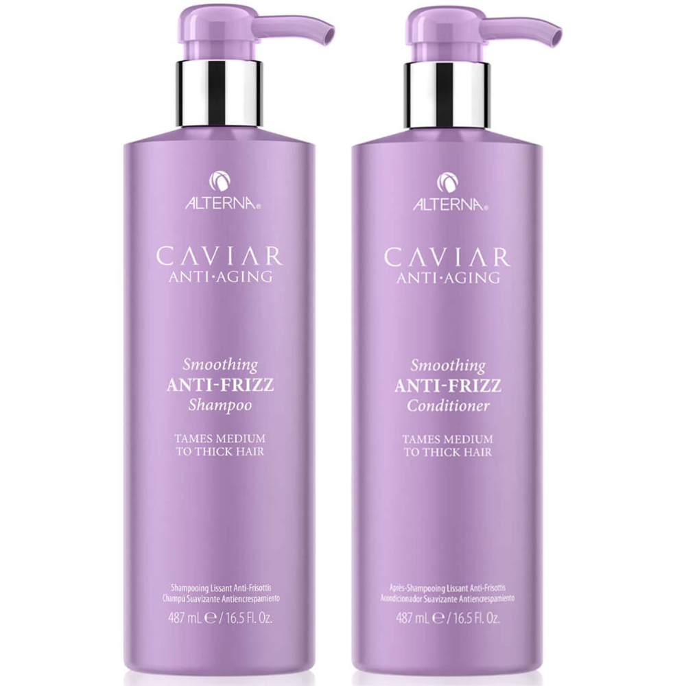 Alterna Caviar Smoothing AntiFrizz Shampoo and