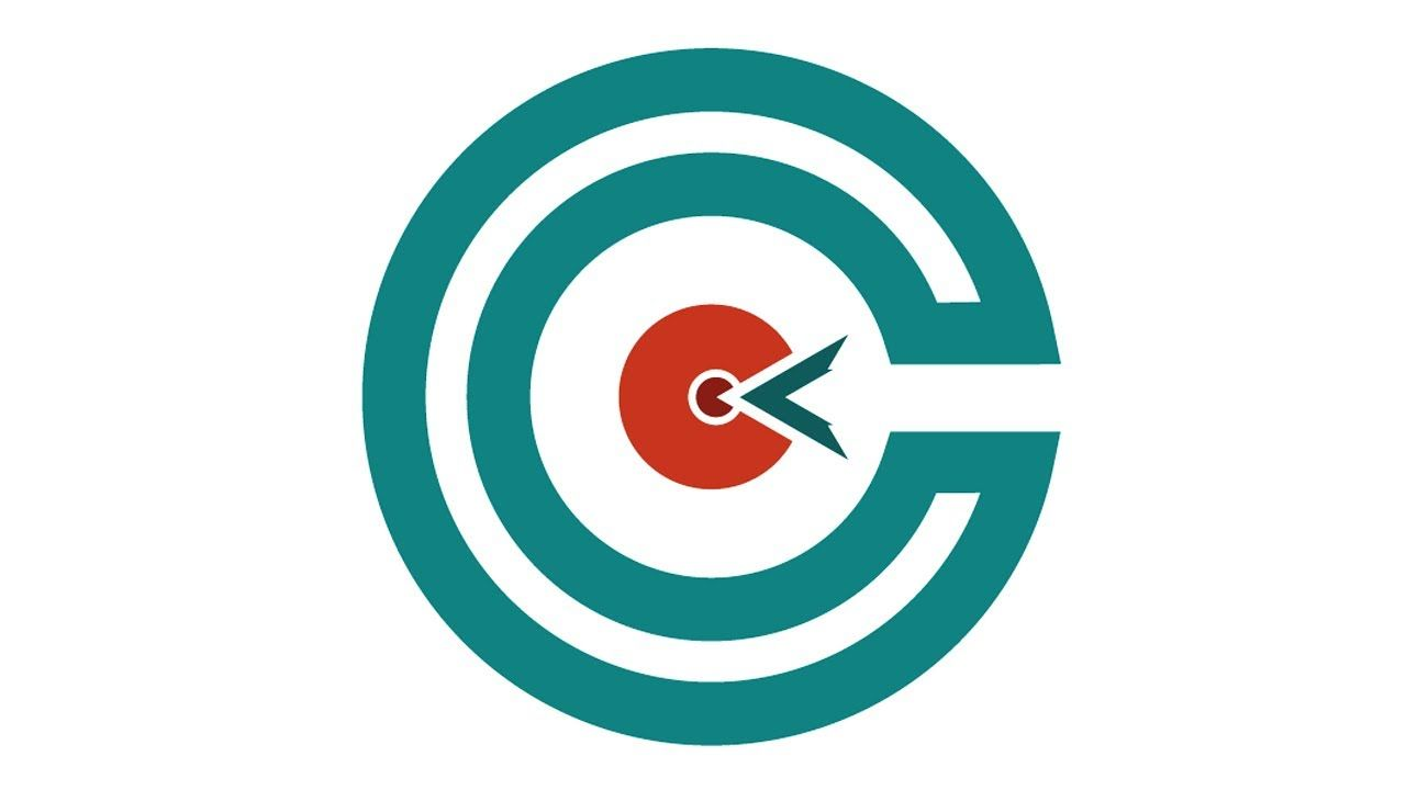 Target Logo Logo Design Letter Logo Design Illustrator C Letter Lo Letter Logo Design Graphic Design Logo Logo Design