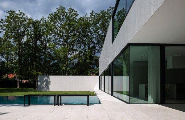 La residence dm cabinet cubyc en belgique dans la ville de keerbergen étonne