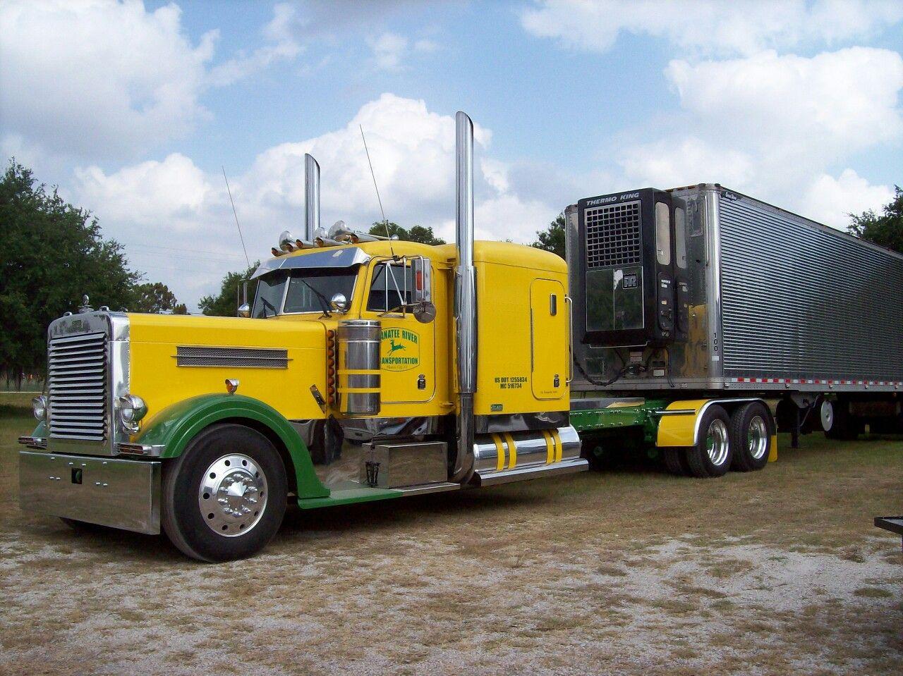 truckingworldwide: 1996 Peterbilt custom 379 EX