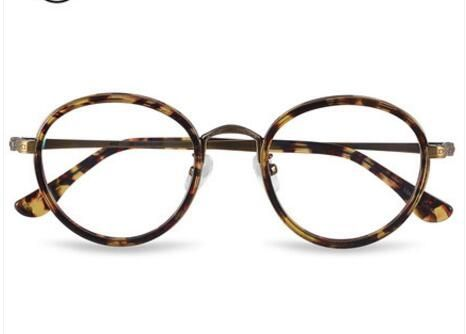 e927d7a74223 Small round frame glasses JM1000012 star with the paragraph retro art glasses  frame