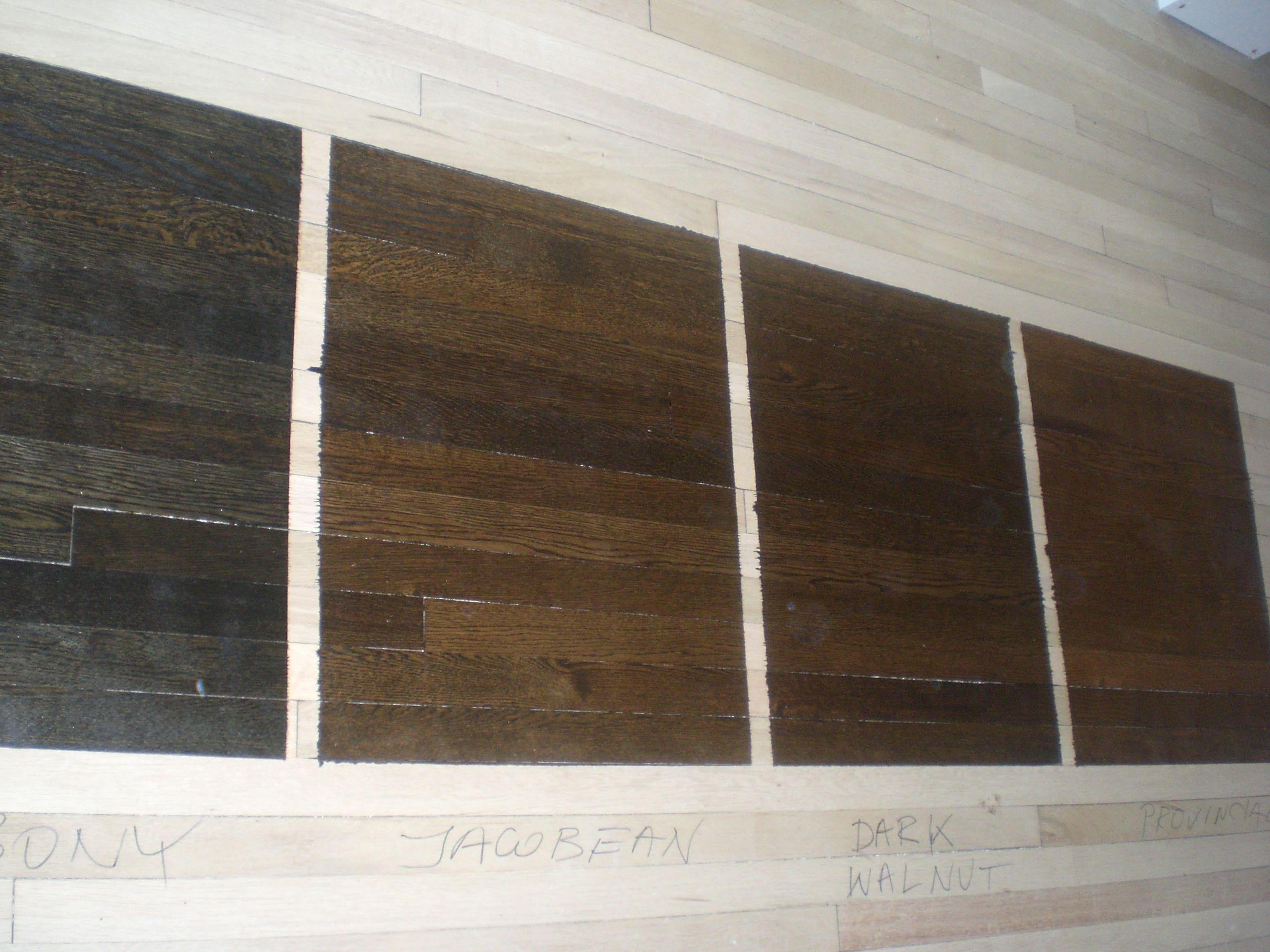 Brick Walls White Oak Floors Stained Ebony Google Search
