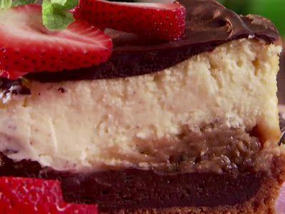 chocolate explosion cheesecake