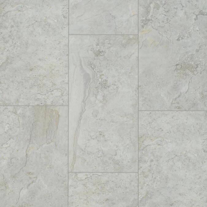 Smartcore 10 Piece 12 In X 24 In Sumter Stone Interlocking Or Glue Adhesive Luxury Vinyl Tile Lowes Com In 2020 Luxury Vinyl Tile Vinyl Tile Luxury Vinyl