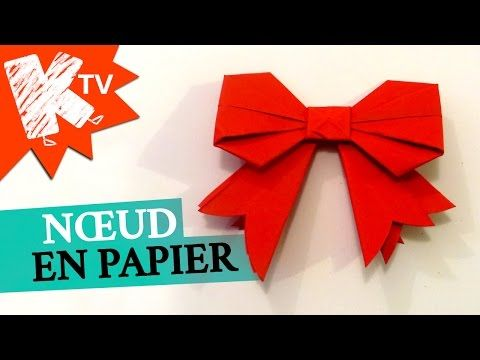 origami facile sur youtube