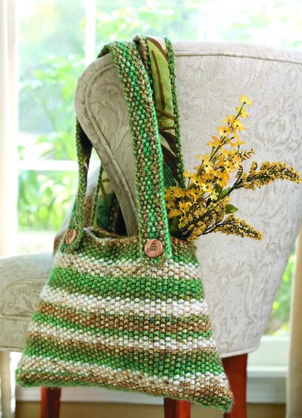 Free Knitting Tote Pattern | Tote pattern, Deborah norville and Free ...