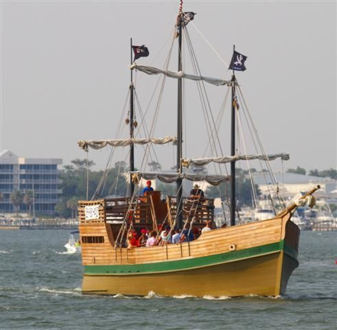 Pirate Ship Adventure Skull Harbor Orangebeach Pirates Meetings - Pirate ship cruise