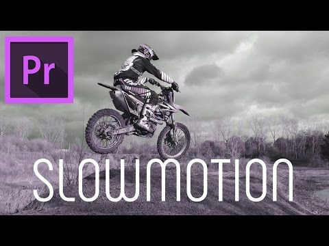 SLOW MOTION tutorial for Adobe Premiere Pro (NO plug-ins required!) - YouTube