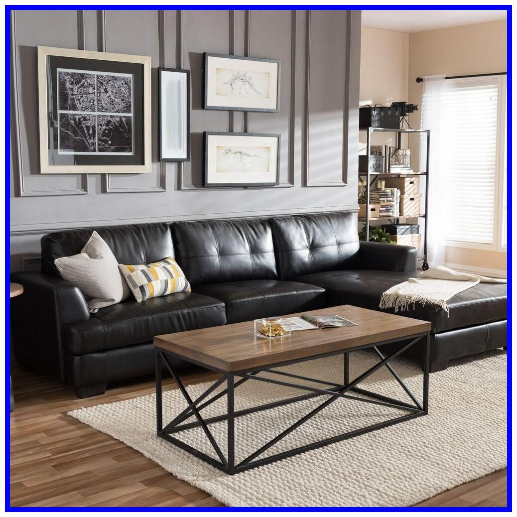 43 Reference Of Black Couch Living Room In 2020 Black C
