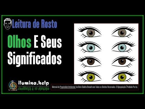 A cor dos seus olhos indicam qual a sua missão na vida- Cristina Cairo - YouTube