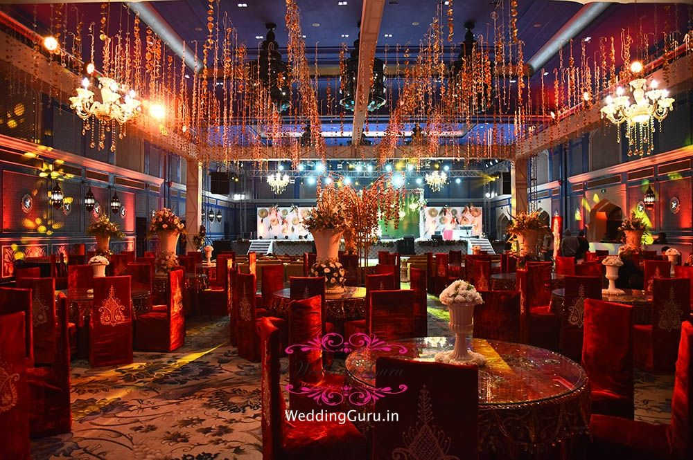 Jaipur indoor setup for Sangeet Night Destination