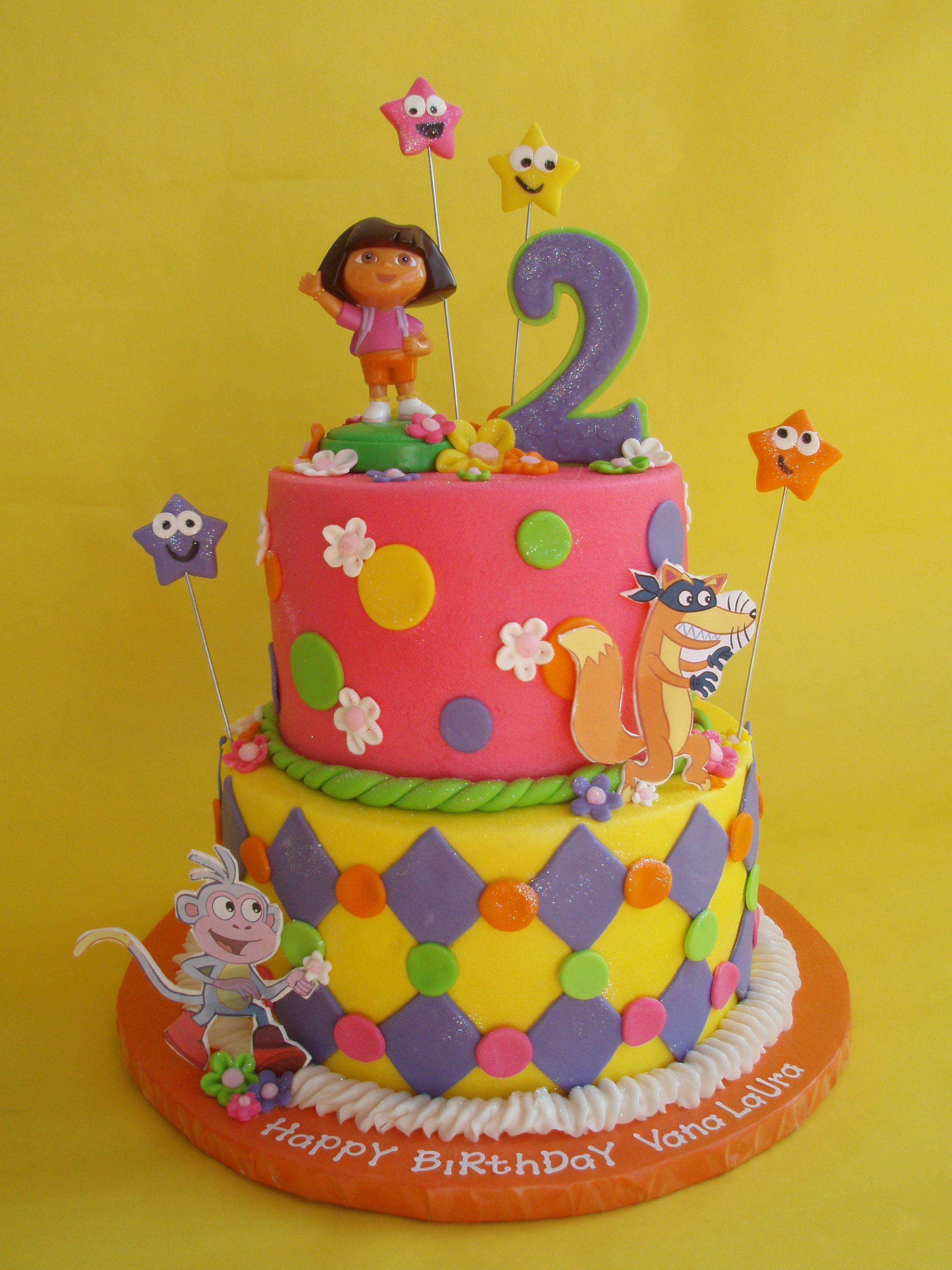 Dora Cake Toppers Walmart