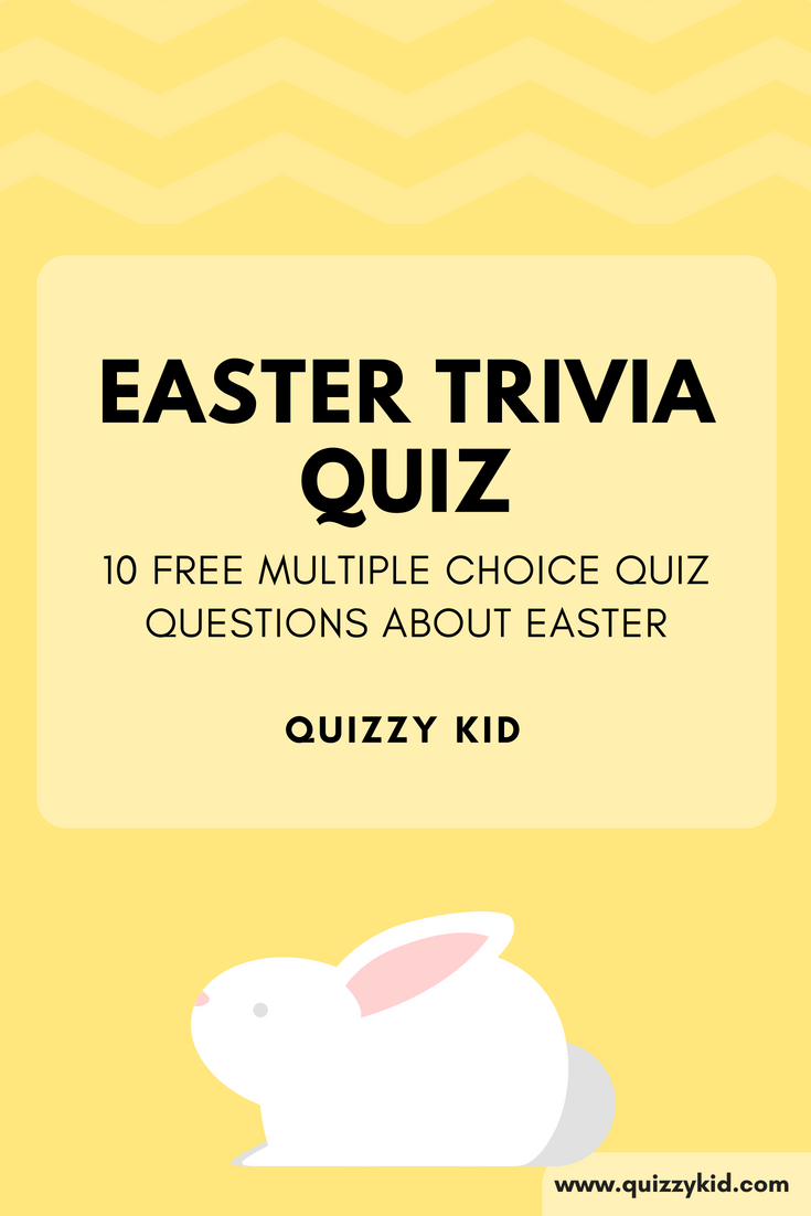 It is an image of Sassy Easter Trivia Questions and Answers Printable