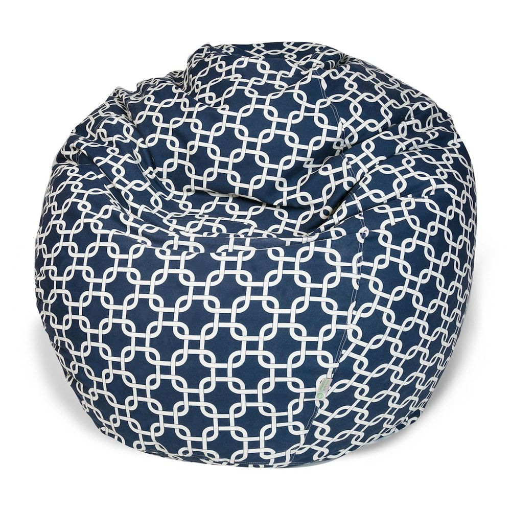 Remarkable Majestic Home Goods Links Indoor Outdoor Small Beanbag Blue Machost Co Dining Chair Design Ideas Machostcouk