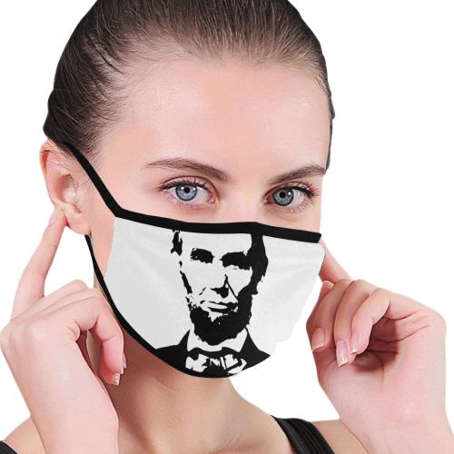 Abraham Lincoln 3 Mouth Mask Mouth Mask Mouth Mask Design Mask