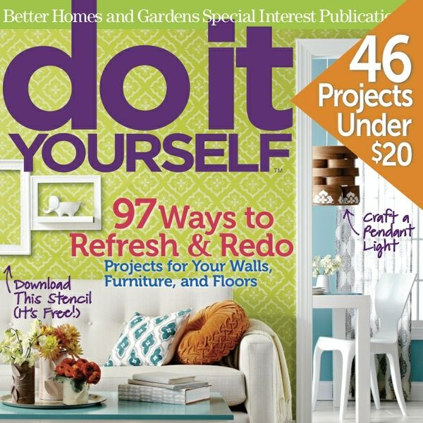 Diy magazine httppinterestdiymagazine magazines on do it yourself from weekend projects to a kitchen makeover do it yourself will inspire you with new ideas for your home and garden and assure your solutioingenieria Gallery