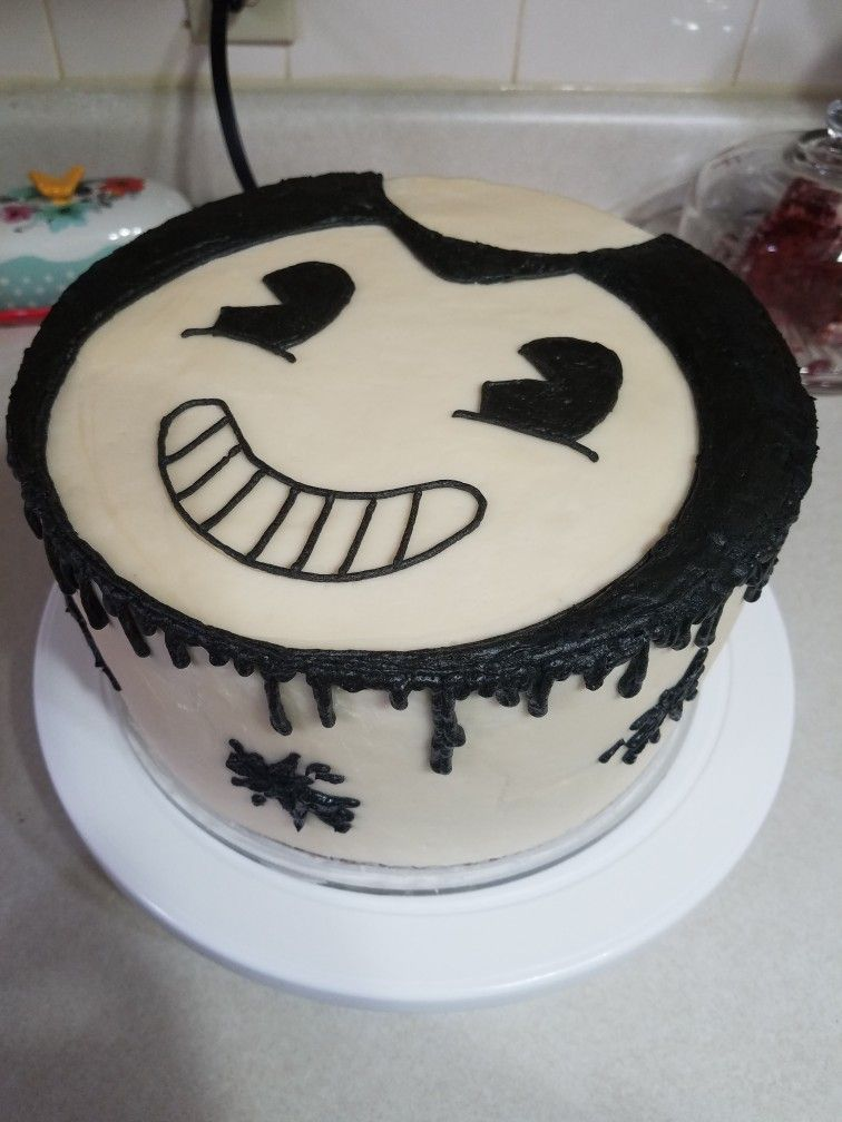Bendy And The Ink Machine Cake Undertale Cake Bendy