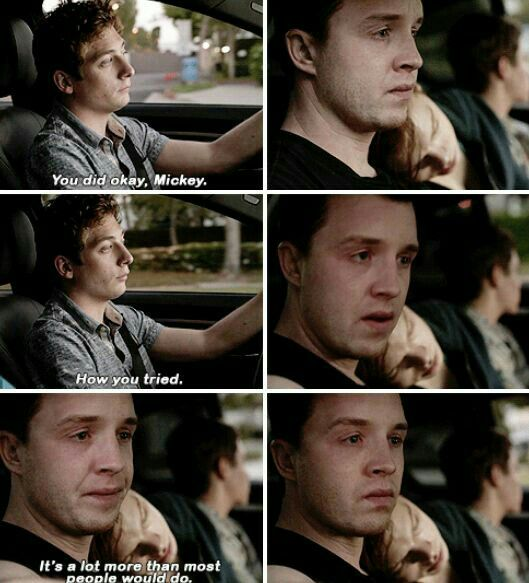 Pin By Sydney Breeden On Gallavich Shameless Memes Shameless Quotes Mickey And Ian