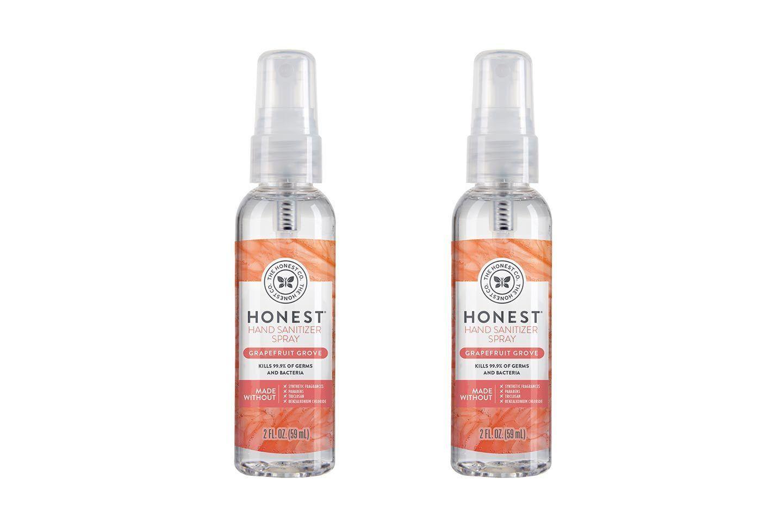 The Honest Company Hand Sanitizer Spray Grapefruit Grove 2 Fl