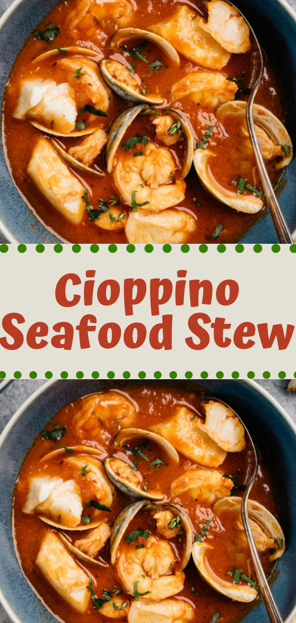 Keto Dinner | Cioppino Seafood Stew #keto #dinner #seafood ★★★★★ 522 Review